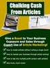 Thumbnail Chalking cash from articles - Make Money From Home